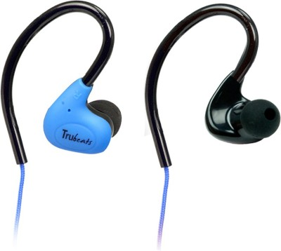 Amkette Trubeats Pulse S6 Wired Headset With Mic(Blue)