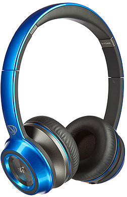 Monster 128452 Wired Headset With Mic(Blue)