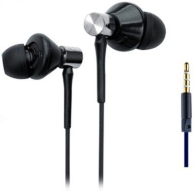 Foncase UBAZen 2 Big Daddy Bass Wired Headphones(Black, In the Ear)