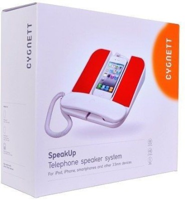 Cygnett Speakup Telephone Speaker System For Iphone/Smartphones/3.5mm Devices Wired Headset