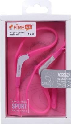FIRETALK YK-470 SHRINK EARHOOK NECKBAND EARPHONES Wired Headset