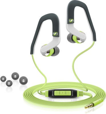 Sennheiser OCX 686I Sports Wired Headset With Mic(Green)
