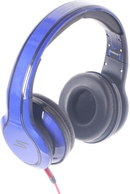 Callmate SMS006B Wired Headset With Mic(Blue)