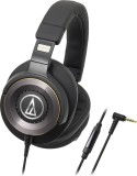 Audio Technica ATH-WS1100iS BK Wired Hea...