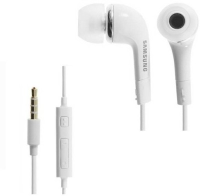SAMSUNG Eo-Hs3303we Wired Headset With Mic(White, Black)