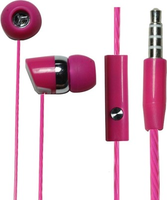 ZOON BJ GOLD-666-PINK SOUND BLAST SERIES Wired Headset