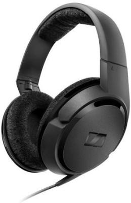Sennheiser HD 419 Headphones Wired Headset With Mic(Black)