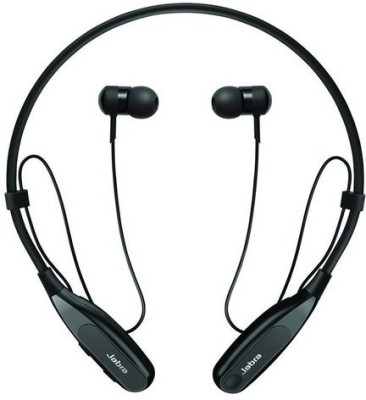 Jabra Halo Fusion Wireless Bluetooth Headset With Mic(Black)