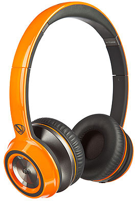 Monster 128453 Wired Headset With Mic(Orange)