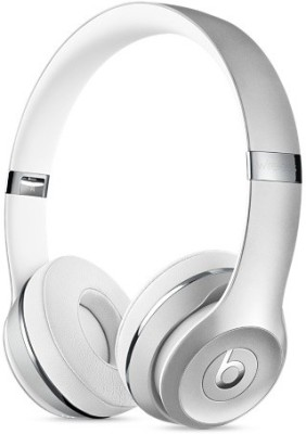 Beats MNEQ2ZM/A Wireless Bluetooth Headset With Mic(Silver)