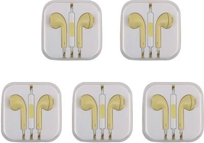 Mobiglam apyellow Wired Headset