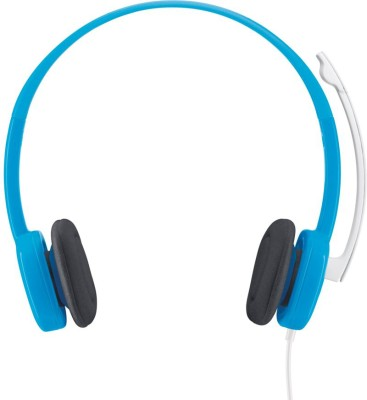 Logitech H150 Wired Headset With Mic(Blue)