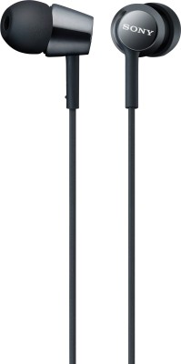 Sony MDR-EX150AP Wired Headset With Mic(Black)