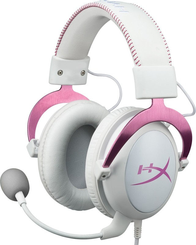 HyperX Cloud II Gaming Headset for PC,Xbox One,PS4 - Pink(Pink)