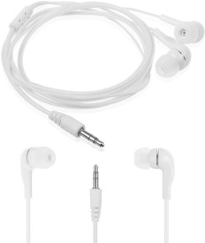 BeingDesi Hi Bass Earphone Headphone for with mic High Treble and Bass Performance For Samsung, Motorola , Asus, Xolo,Coolpad,Red MI,Vivo,Oppo,Lenovo,Apple, HTC,Nokia and All Smartphones And Teblet Wired Headset With Mic(White)