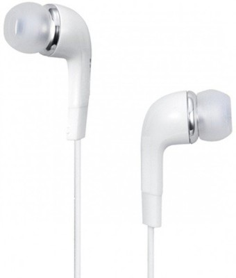 A Connect Z Yr- Samsg AcZ Good Sound ZR -328 Wired Headset With Mic(White)