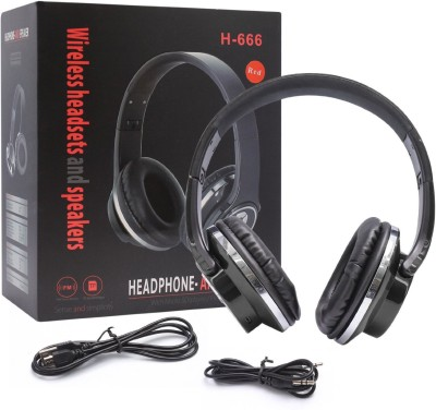 ikare H 666 Wired & Wireless Bluetooth Headset