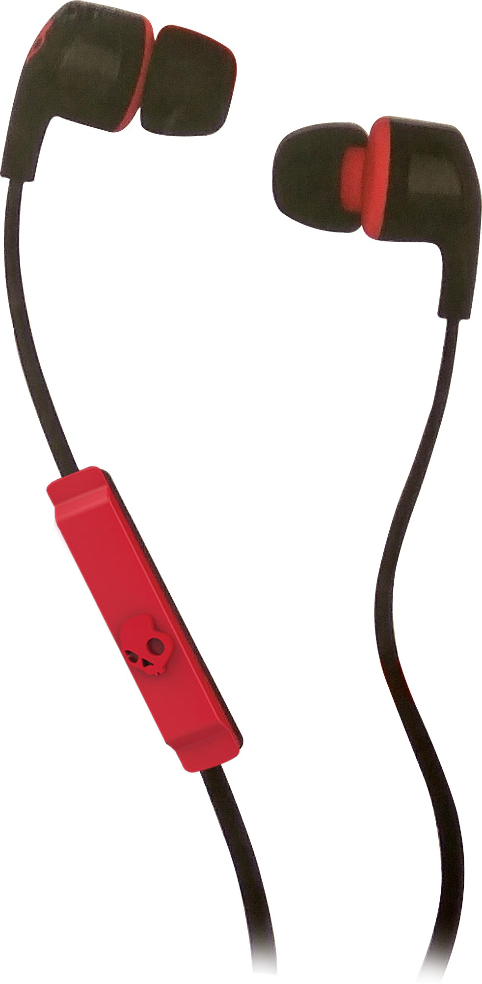 Skullcandy S2PGFY-010 Wired Headset With Mic(Black & Red)