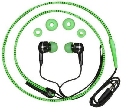 GINNIMARKETING Ginni Sportive Bass Zipper Earphones Wired Headset