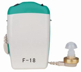 Axon Professional Pocket Wired Sound Amplifier F-18 In the Ear Hearing Aid