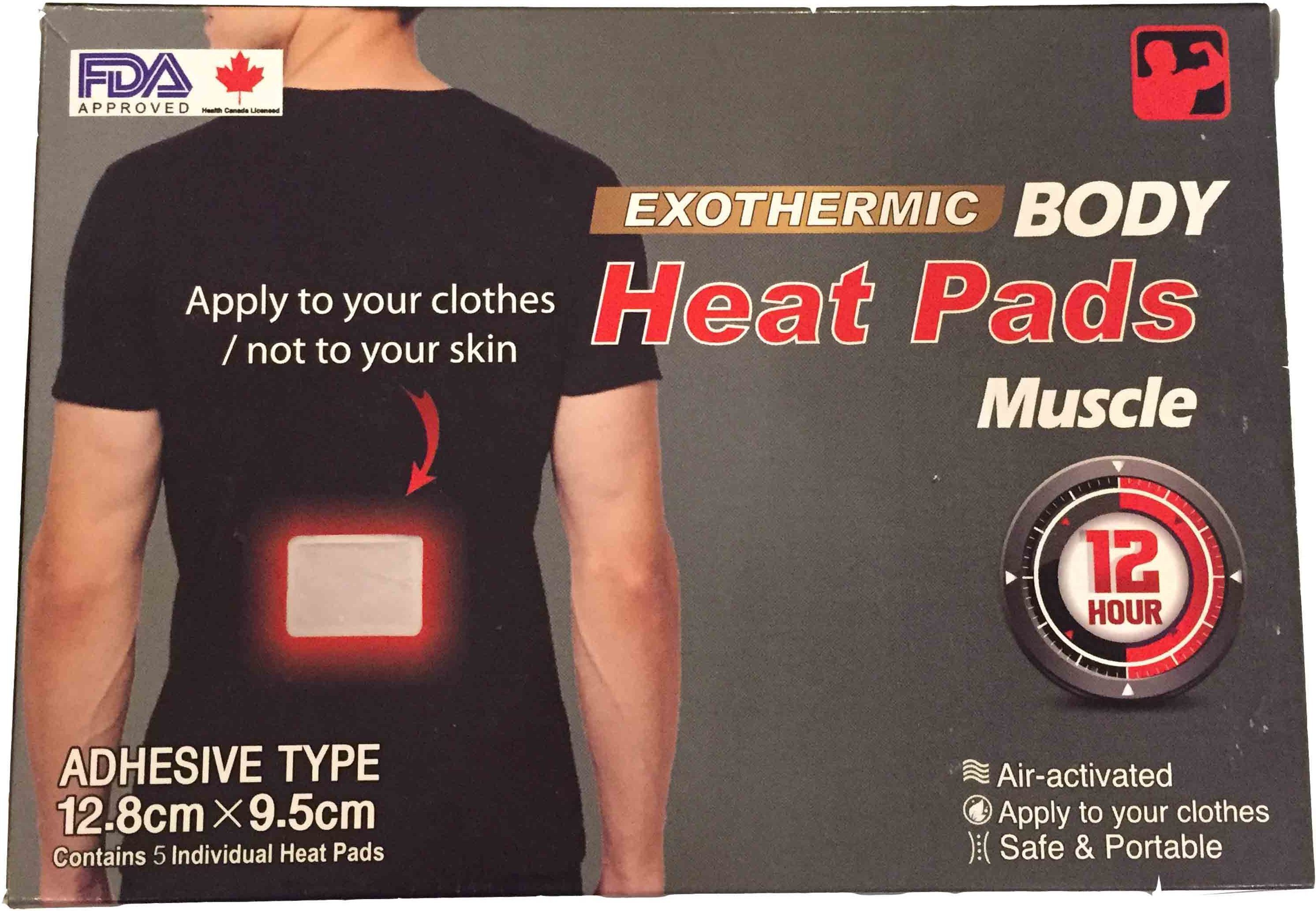 BrandMeUp Exothermic Body - Adhesive Type Heating Pad