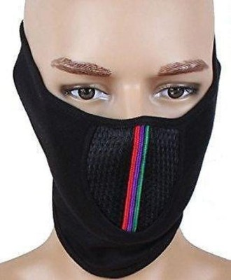 ca3215a40cb Babji POLLUTION BLACK HALF FACE MASK FOR BIKE RIDING WALK CYCLE TRAFFIC  Helmet