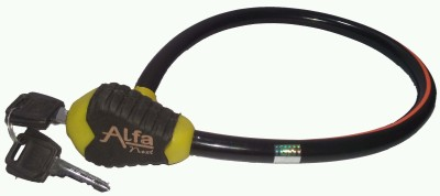 Alfa Plastic, Steel Cable Lock For Helmet