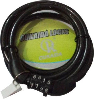 OUKAIDA Iron Combination Lock For Helmet