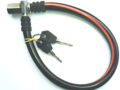 Bike World Plastic Cable Lock For Helmet