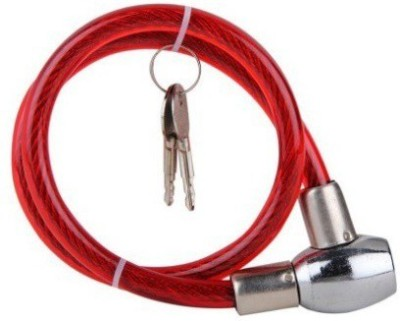 BIKEWAY Iron Cable Lock For Helmet