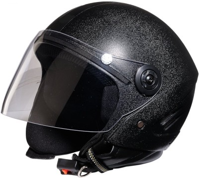 vedika collection BLACK HELMET Helmet Visor