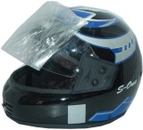 Autosity Rock-Bird Helmet Visor (Black, ...