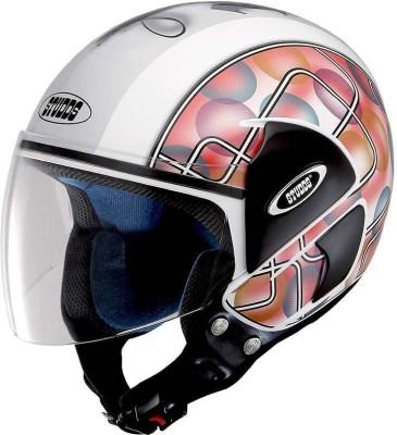Studds Cub D2 Decor Motorsports, Motorbike Helmet - L