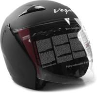 Vega ECLIPSE Motorbike Helmet - M(DULL BLACK)