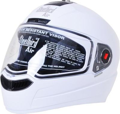Steelbird Air Dashing Clear Visor Motorbike Helmet - M