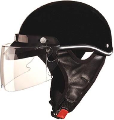 Studds Troy Motorbike Helmet - L(Black)