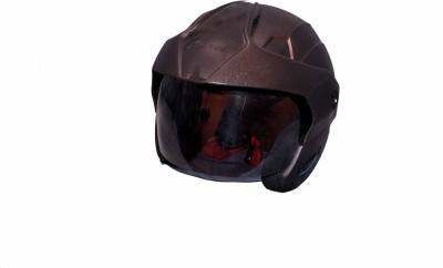 Aeroh S9-Black Motorbike Helmet - M