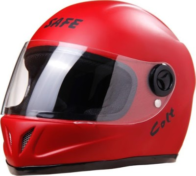 Safe COLT Matt Full Face Motorbike Helmet - M