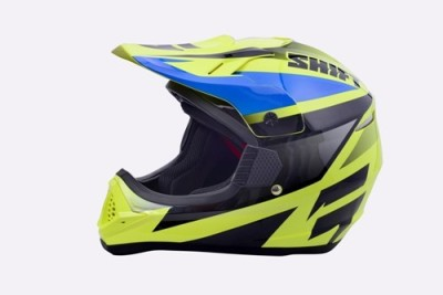 Shift Shift Yellow Motorsports Full Face Helmet Motorsports Helmet - S, M, L