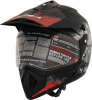 Vega Off Road D/V Gangster Motorsports Helmet - L