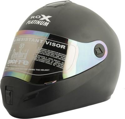 Steelbird Rox Platinum Motorbike Helmet - L