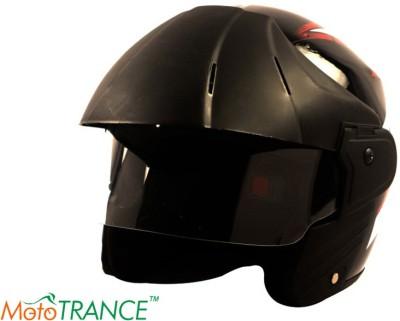 Mototrance Hard and Stylish (TC-201) Motorbike Helmet - L
