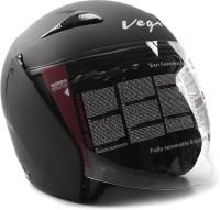 Vega Eclipse Motorsports Helmet - M(Dull Black)