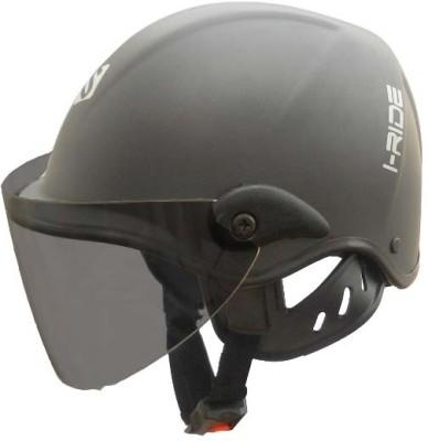 Saviour I-Ride Matt Unisex - Tinted Visor Motorbike Helmet - M