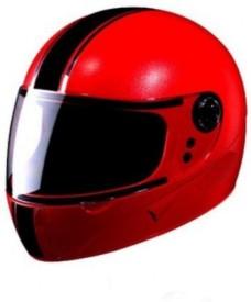 CRAZY E1 RED Motorbike Helmet - L