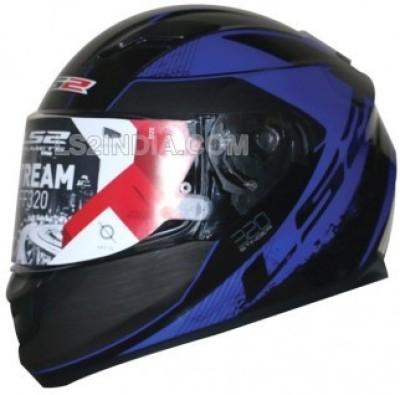 LS2 FF320 Stinger Motorbike Helmet - XL