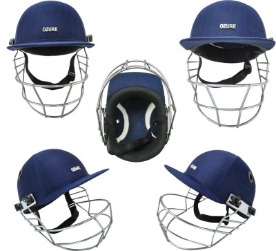 Ozure Armor Cricket Helmet - L (Blue/Chrome) Cricket Helmet - L