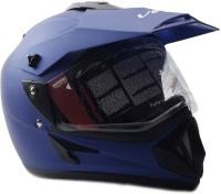 Vega Off Road D/V Monster Motorsports Helmet - M(Dull Blue)