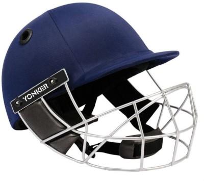 Yonker Cricket Helmet MATRIX with Velcro Adjuster-L Cricket Helmet - L