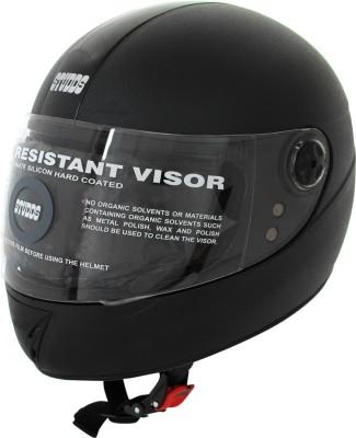 Studds Chrome Elite 540MM Motorsports Helmet - XS(Black)